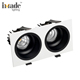 20w 30w COB two heads recessed downlight led light spotlight