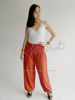 00b98fbcab Beach Pants Fabric Aladdin Boho Harem Thai Rayon Women - Buy Rayon ...