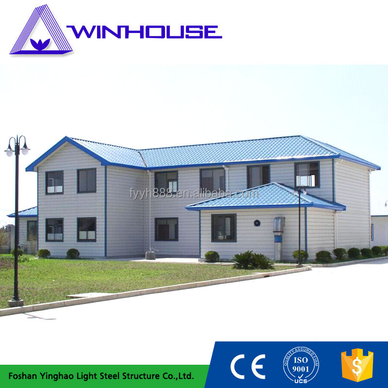 Low Cost Light Steel Prefab Apartment Steel Building For Sale