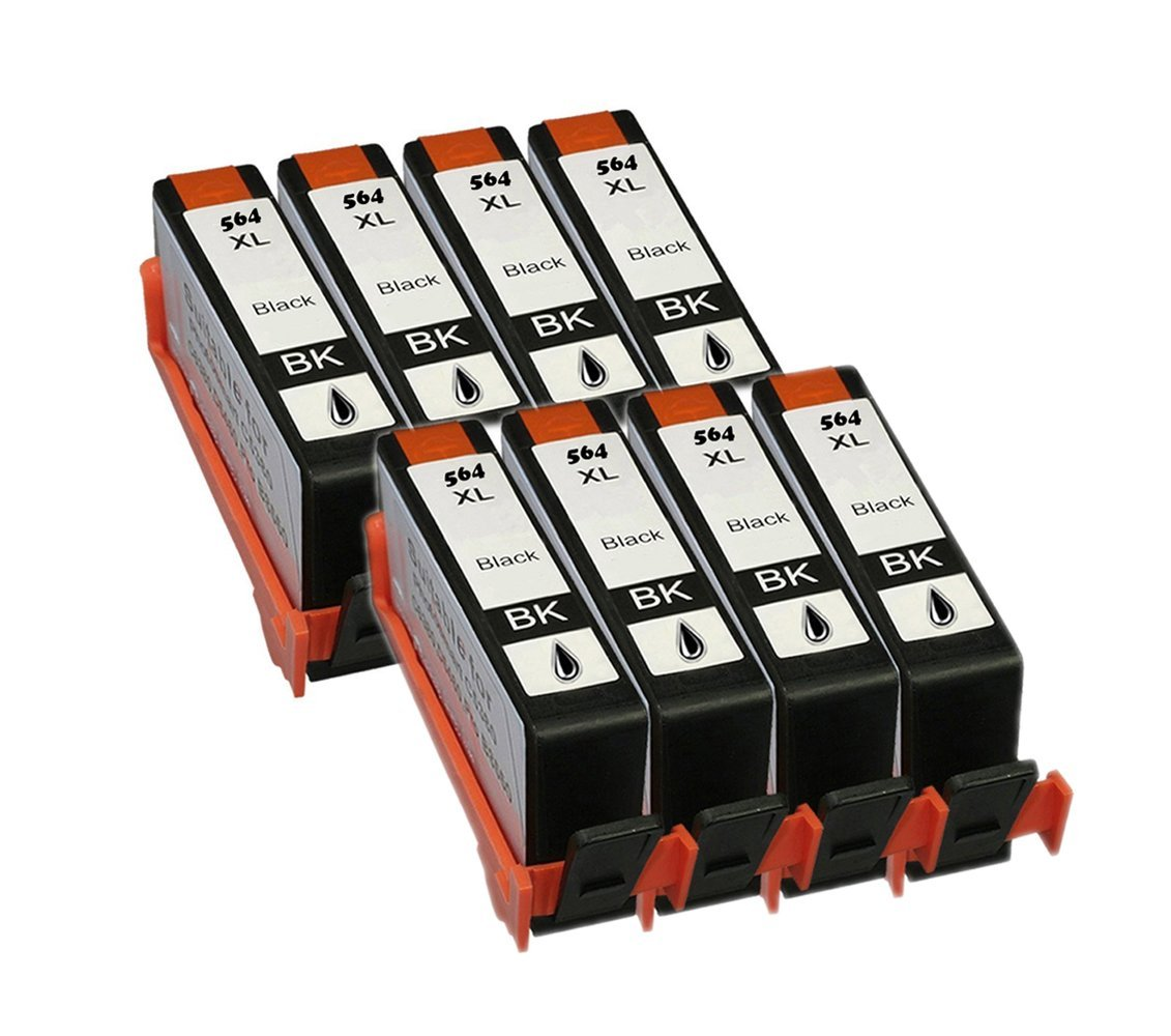 Remanufactured Ink Cartridges for HP 564XL 1 Black MICR//1C//1M//1Y