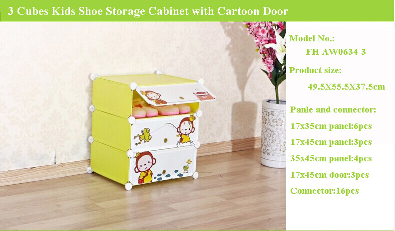 New Design Shoe Rack Cabinet For Kids Room Funiture To Hold About 54 Pairs  Shoes(fh Aw0241821 18)   Buy Shoe Rack,Cartoon Door Shoe Rack,Shoe Rack  Cabinet ...