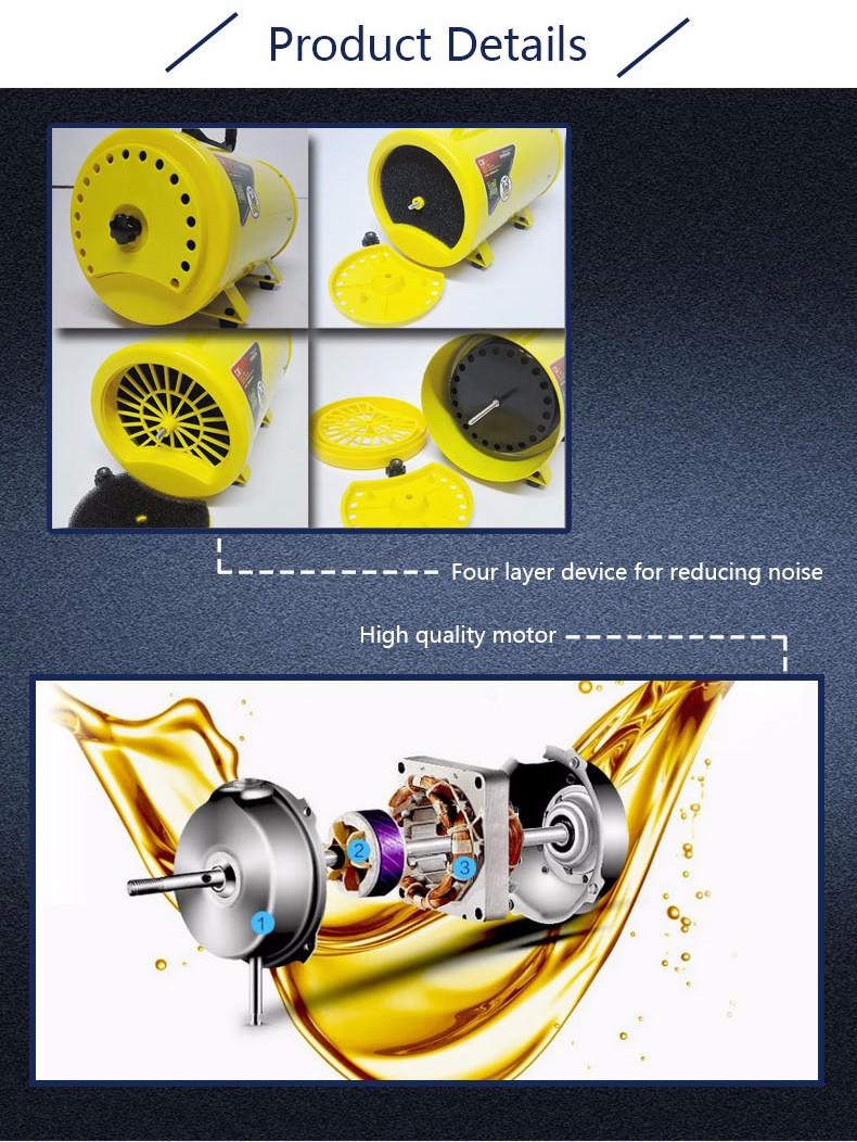 STL-1902 Powerful pet dryer dog hair blaster pet grooming machine