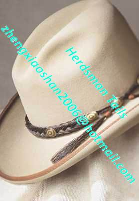 dcc15df9348 Handmade Horse Hair Cowboy Hat Band For Horse Lovers - Buy Cowboy ...