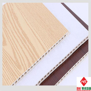 High Quality and Cheap Price Wood Plastic Composite Fireproof Integrated Wall WPC Board