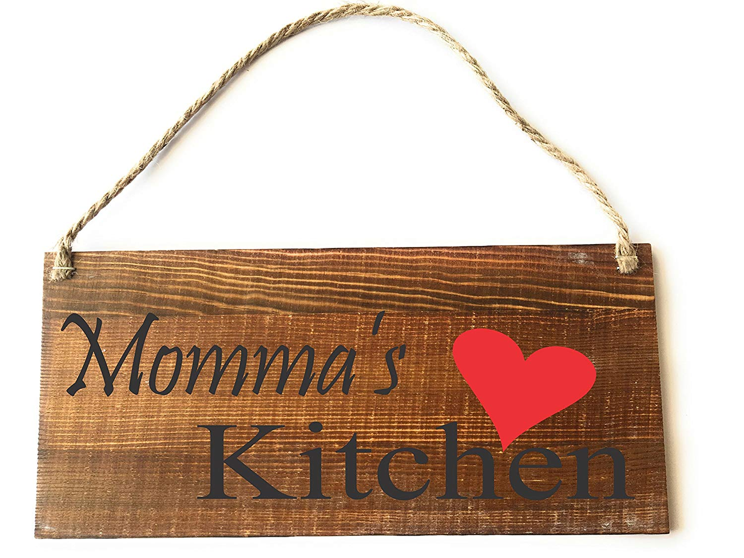 CUSTOM HANDMADE PERSONALIZED SIGNS, MOMMA'S KITCHEN, RUSTIC, COUNTRY WOODEN SIGN, BIRTHDAY GIFT, MOTHER'S DAY GIFT, by Heartland Country Decor