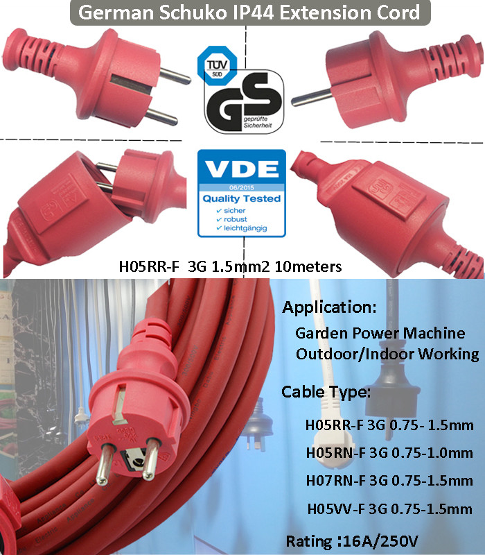 Electric Extension Cords Power Cable Agricultural Appliance ...
