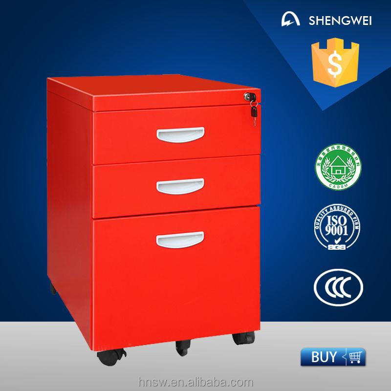 Movable steel drawer cabinet office furniture anderson hickey file cabinet with drawer cabinet