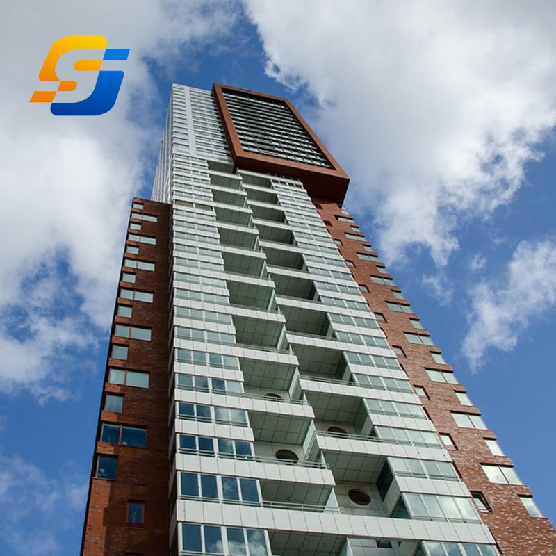 Prefabrication Safety Solid High Rise Building Construction