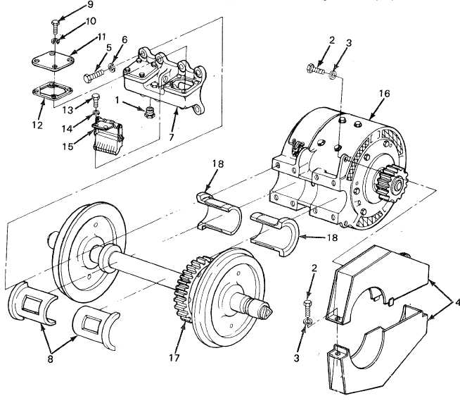 Traction Motor Of Train Engine For Ge Locomotive Parts