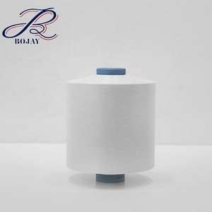 DTY China Factory Manufacturer 100% Polyester 150D/48F SD NIM RW White Polyester Textured Yarn for Knitting and Weaving