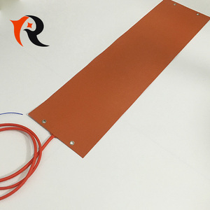 12v 3D printer flexible silicone rubber heating heater mat