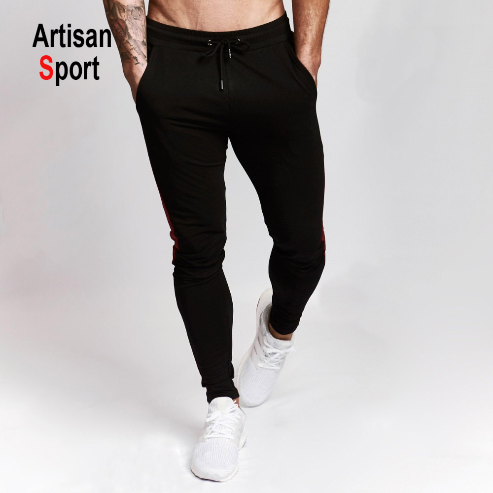 Mens Casual Joggers Tracksuit Bottoms Jogging Pants Sweatpants Silky Gym Trouser