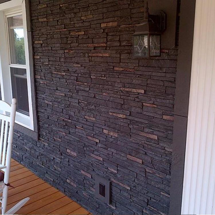 artificielle polyur thane pierre panneau mural d coratif. Black Bedroom Furniture Sets. Home Design Ideas