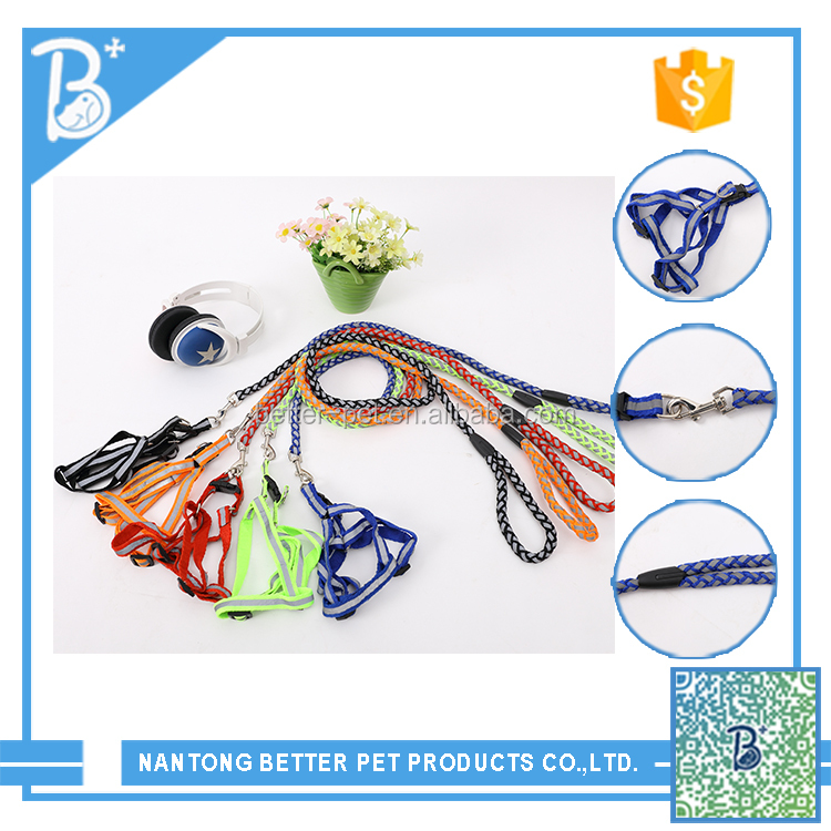 High quality dog rope collar and leash wholesale Pet Products
