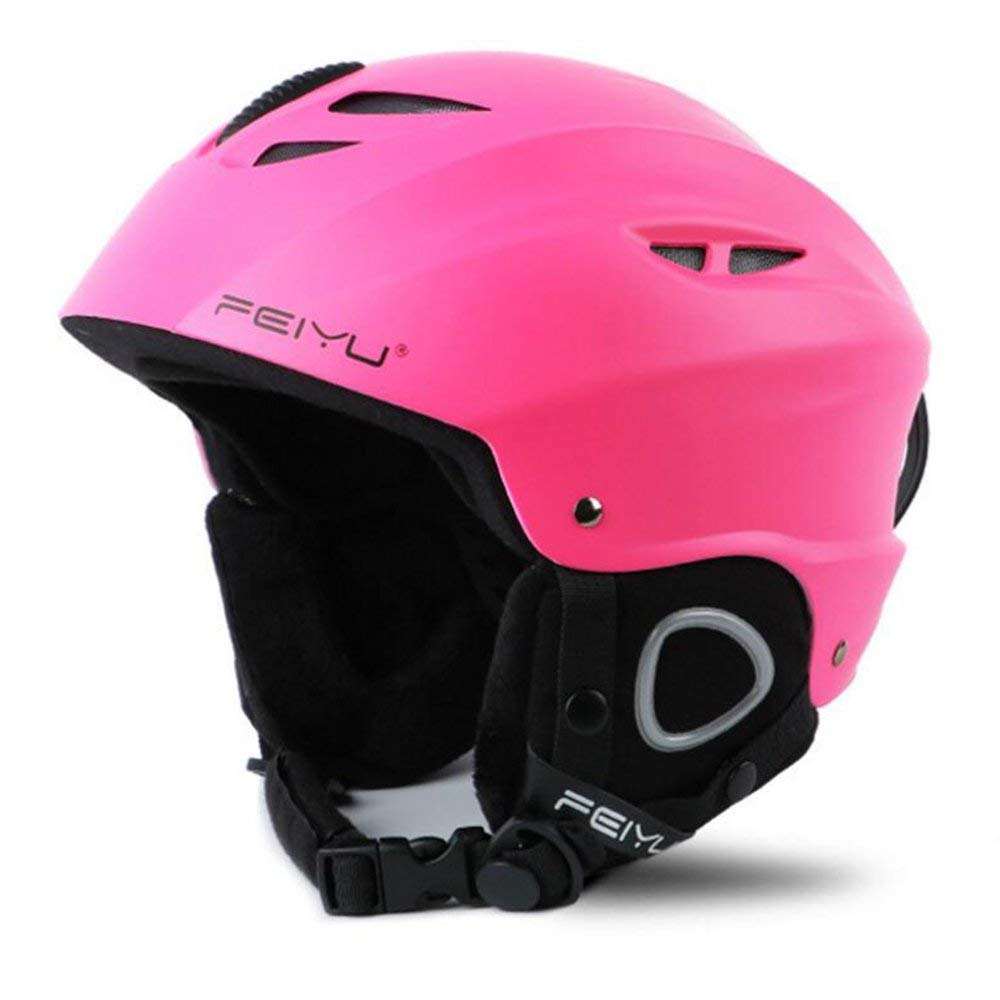 Unisex Adult Helmet Lightweight Snow Sports EPS+ABS Black Adjustable