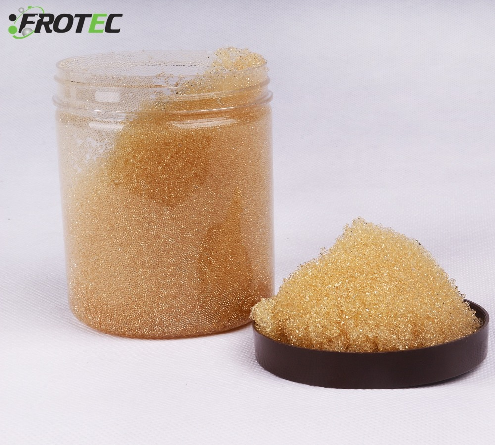 China Supplier Water Softening Weak Acid Cation Ion Exchange Resin
