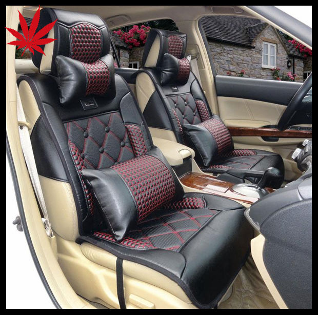 Leather Coach Car Seat Covers Design