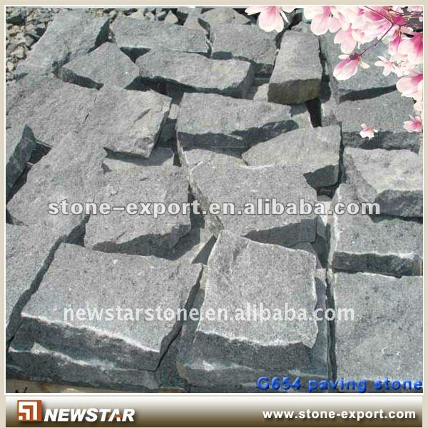 granite road paving material
