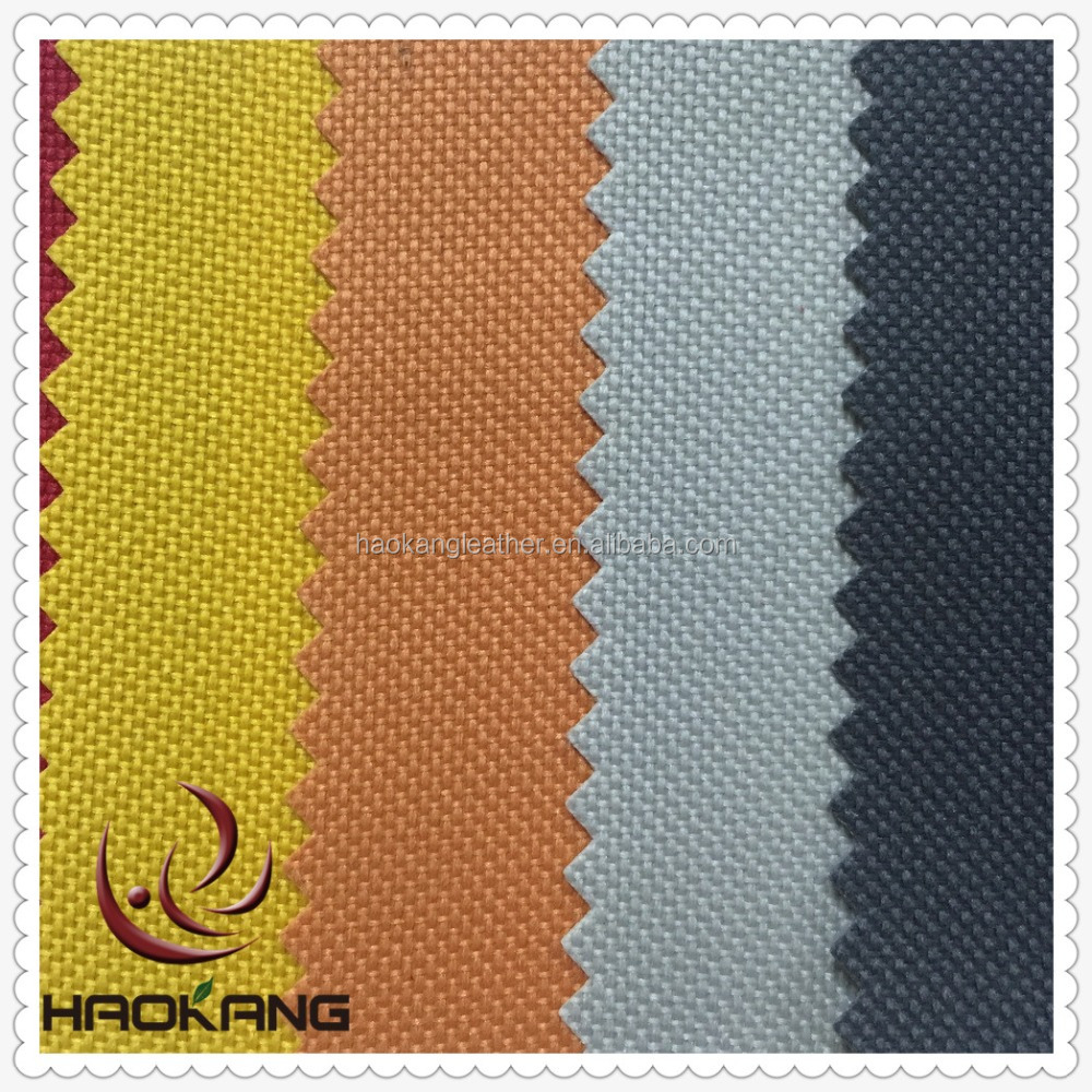 600d Polyester fabric with pvc backing