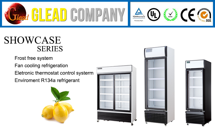 480L Commercial One Open Door Refrigerated Showcase