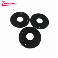 Cheap custom clamp glass rubber gasket custom design Rubber fireproof Sealing Gasket round design