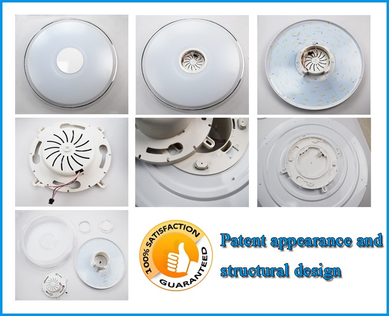 Excellent Heat Exchange Ceiling Light Led Flush Mount Ceiling ...