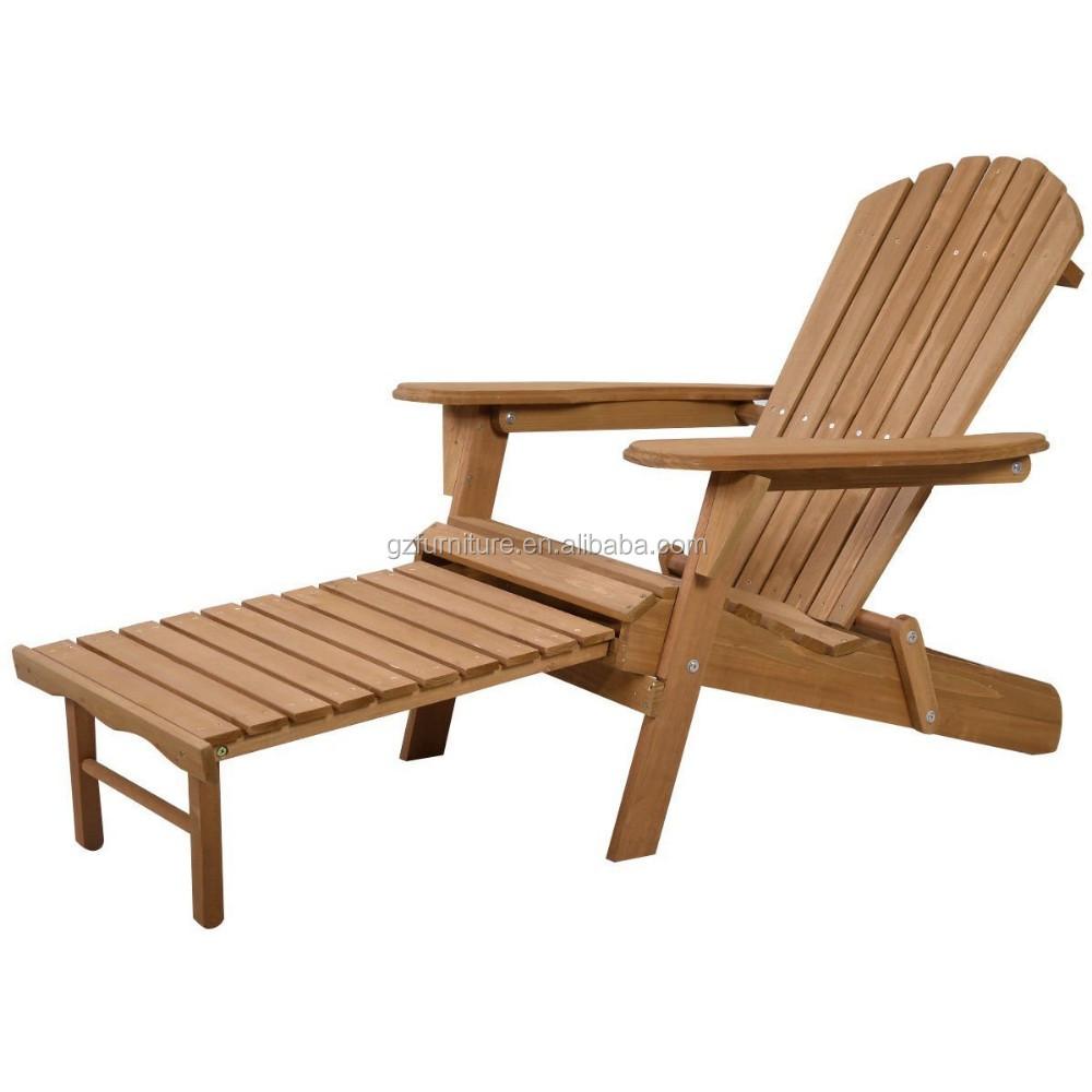 neue außen faltbare holz adirondack stuhl terrasse deck garten - buy