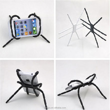 Silicone Spider Phone Holder,Interesting Flexible Phone Holder Car Stent Support Cell Phone Smart Desktop Stand