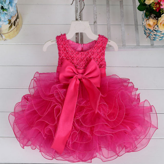 Birthday Dress 1 Year Baby Girls Party For 5 Years Old