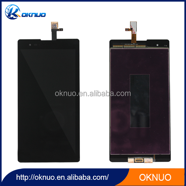 IPS Material high quality LCD digitizer replacemt for Sony T2
