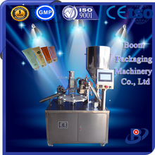 Manual ointment plastic tube filling and sealing machine