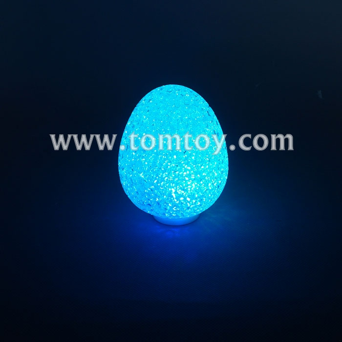 2018 LED Christmas Clear Plastic Easter Egg