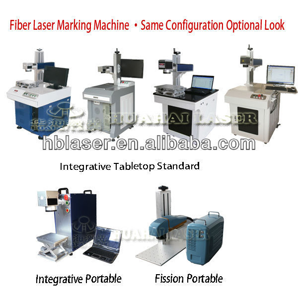 Wholesale Price High Precise Fiber Optical Laser Marking Machine YLP-HB20W Hot Sale