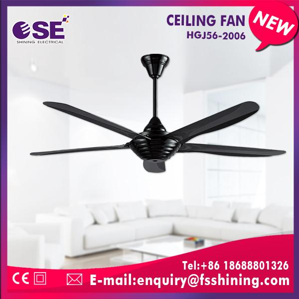 Plastic small size ceiling fan with nice appearance