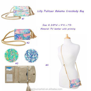 Wholesale Pulitzer Bahama Lily Crossbody Bag