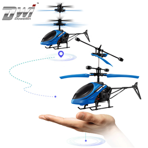 DWI Dowellin Induction Mini Flying Ball Helicopter With LED Flashing Light