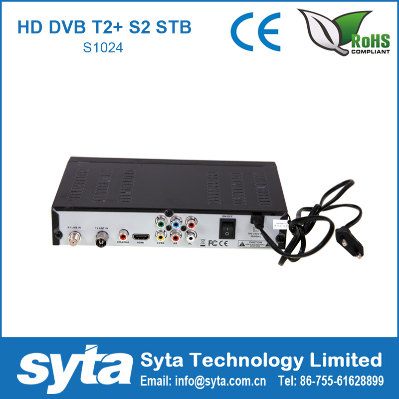 Digital Type and Yes <strong>FTA</strong>(Free To Air) <strong>hd</strong> combo dvb-s2 dvb-t2 <strong>satellite</strong> <strong>receiver</strong> with biss key powervu