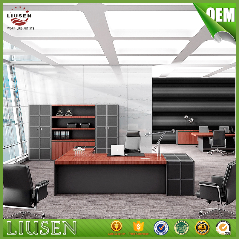Moderne luxus büro  Qualitätssicherung durable chef büro möbel luxus massivholz ...