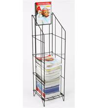 Wholesale Funky Hotel Unique Carriable Wire Magazine Stand