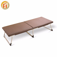 High quality outdoor folding sleeping bed army folding metal bunk bed