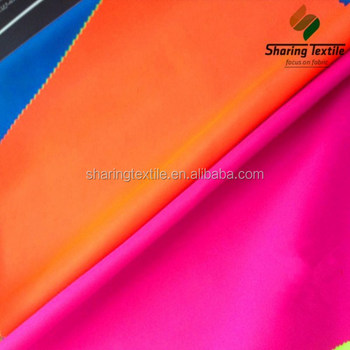 100% Polyester Reflective Fabric For Safety Garment