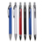 2018 new product customized  panchromatic press neuter business gift  aluminum rod ballpoint pen with bright color