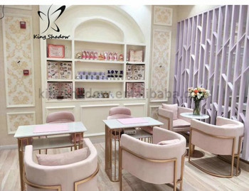 Pink luxury manicure beauty salon equipment chair manicure and pedicure for sale