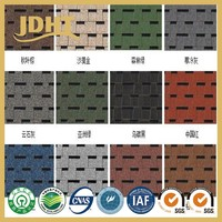 JD-254 Pattern-Design Colorful Granular modified Bitumen waterproof roll Residential & Commercial Roofing Installation