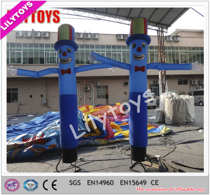 Standard air dancer blower, funny amusing inflatable cartoon, inflatable performance