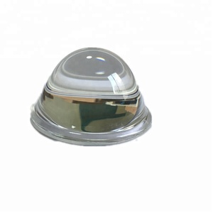 50MM led lens reflector for 5w - 10w cob led chip 90 degree