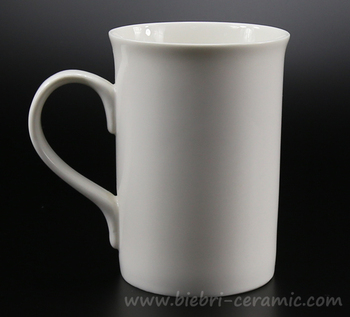10oz Logo Decal Artwork Custom Design Printable Plain White Porcelain  Coffee Mugs