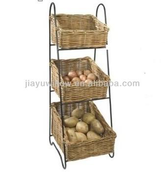 Kitchen Vegetable Storage Baskets For Potato Wholes