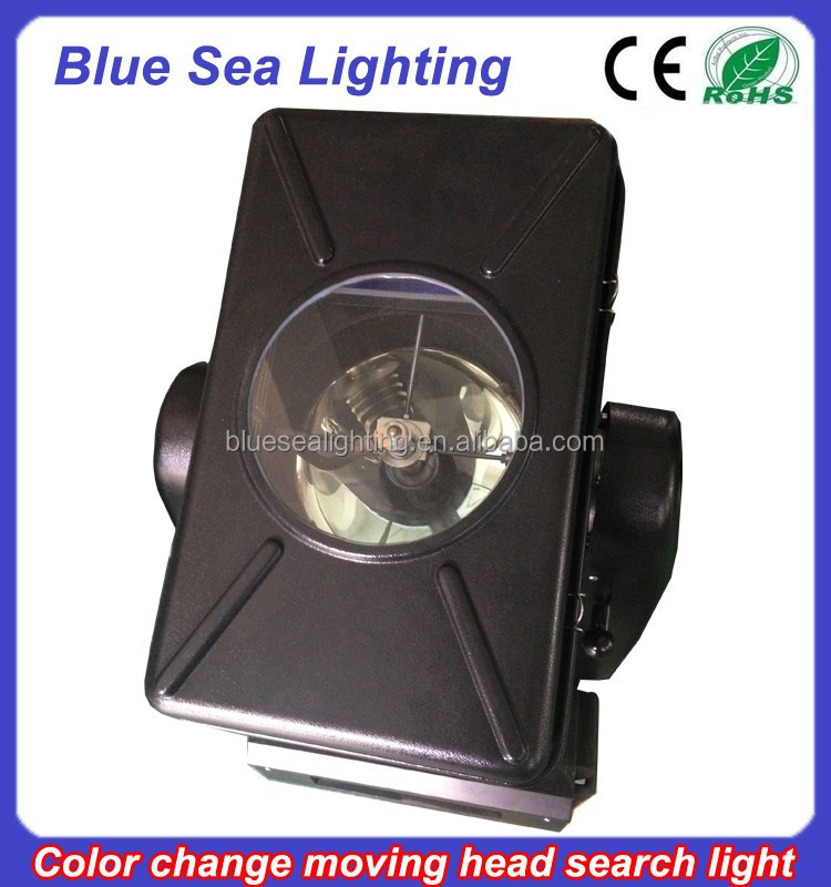 GuangZhou long-range searchlight 4/5/7/10KW color changeable moving head