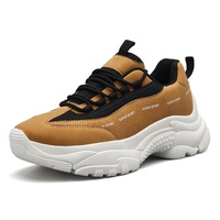 Fashion liberty light weight durable comfort lace-up anti-slip men new sports shoes